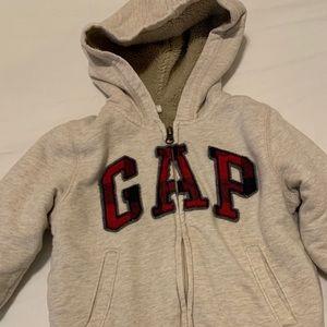 Boys Gap Sherpa Lined Sweatshirt